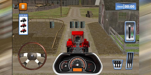Tractor Farm Parking School 3D