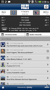 Indianapolis Colts Mobile - screenshot thumbnail