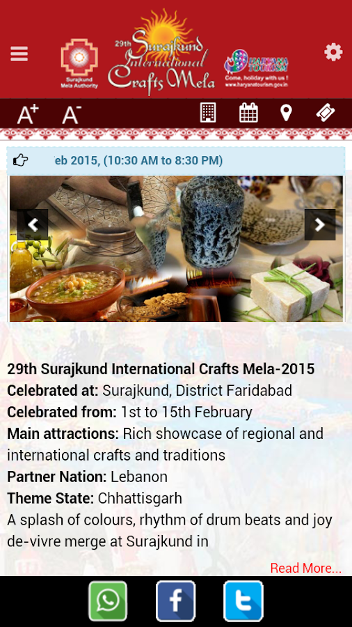 Surajkund Mela- screenshot