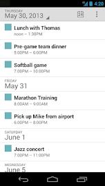 Google Calendar Screenshot 1