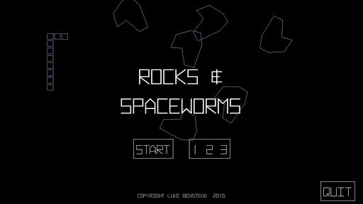 Rocks Spaceworms