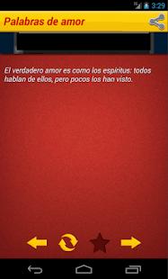 Palabras de amor - screenshot thumbnail