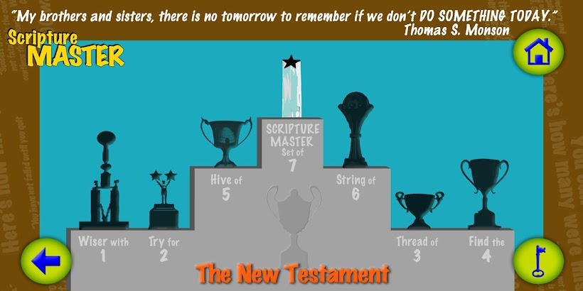 LDS QUIZ - SCRIPTURE MASTERY- screenshot thumbnail