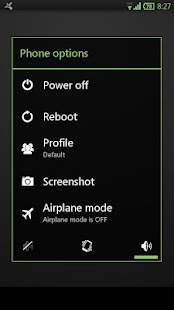 Faded Green CM11 AOKP Theme- screenshot thumbnail