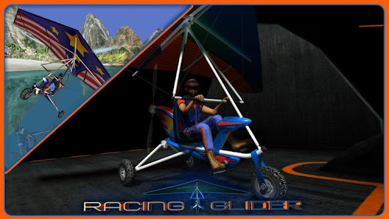Racing Glider Screenshot 1