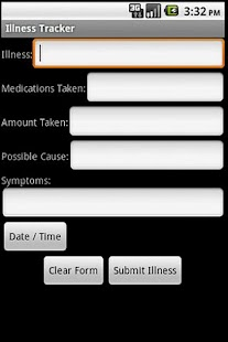 Illness Tracker - screenshot thumbnail