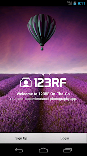 123RF On-The-Go - screenshot thumbnail