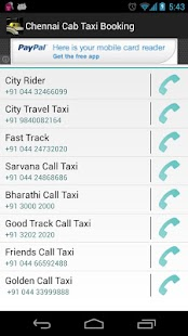 Chennai Cab Taxi Booking - screenshot thumbnail