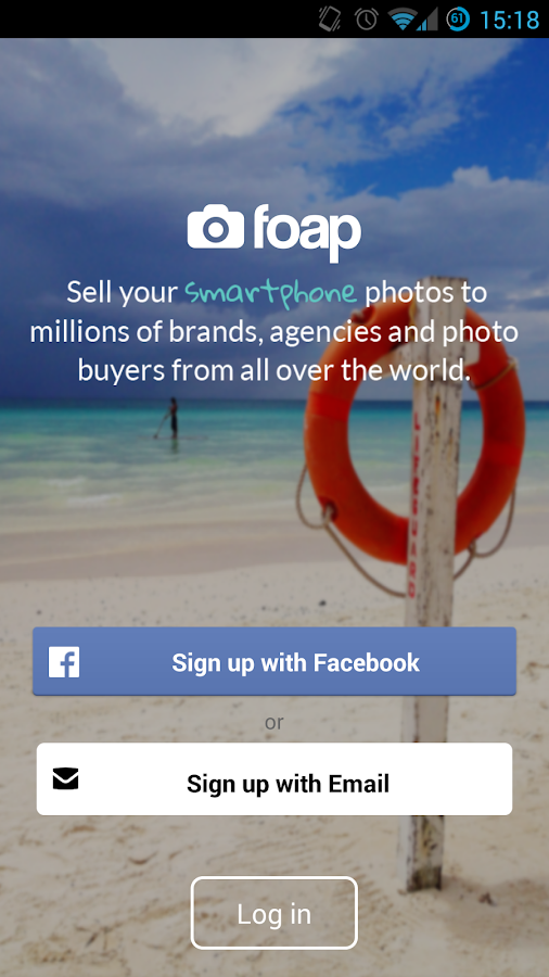 Foap - screenshot