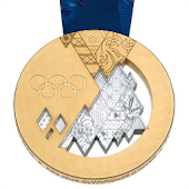 Sochi 2014 Medal Counter