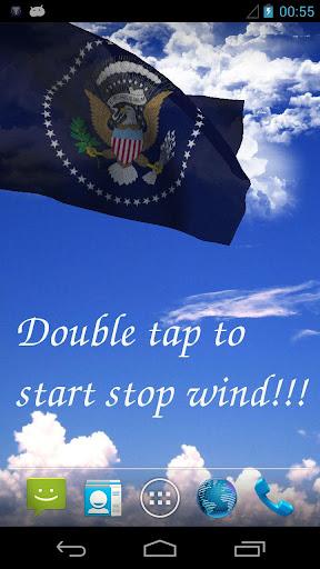 US President Flag
