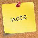 Go Launcher Sticky Note Theme logo
