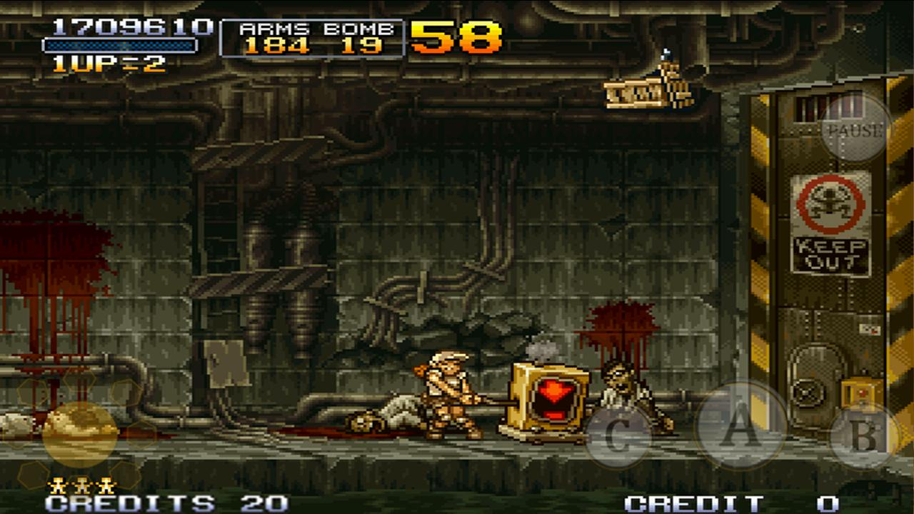 METAL SLUG 2 - screenshot