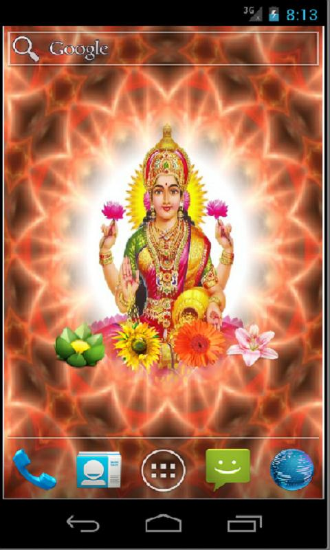 Goddess Lakshmi HD LWP - screenshot
