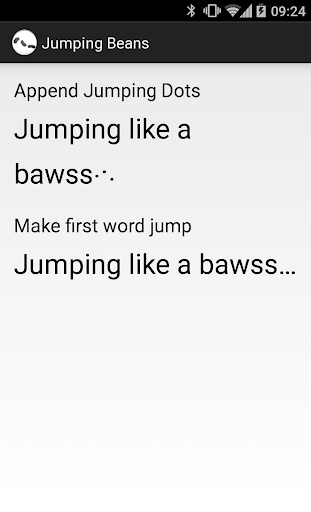 JumpingBeans demo