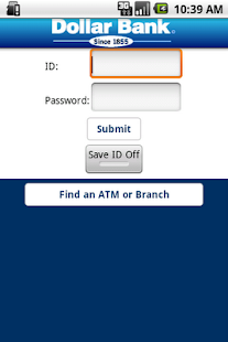 Dollar Bank App- screenshot thumbnail