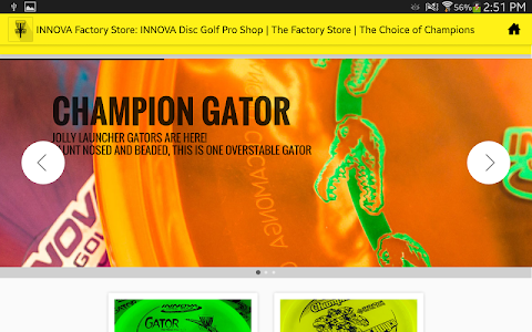 INNOVA Disc Golf Factory Store screenshot 5