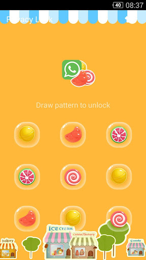 AppLock Theme - Candy