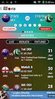 Screenshot of PTV Sports Cricket Station