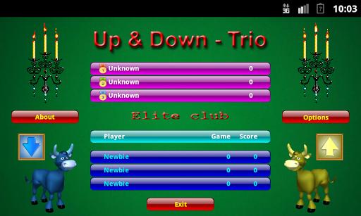 Расписной Покер - Up Down-Trio