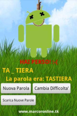 Impiccato PRO in Italiano - screenshot