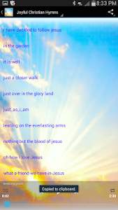 Joyful Christian Hymns screenshot 1
