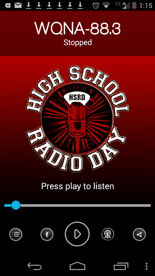 High School Radio- screenshot