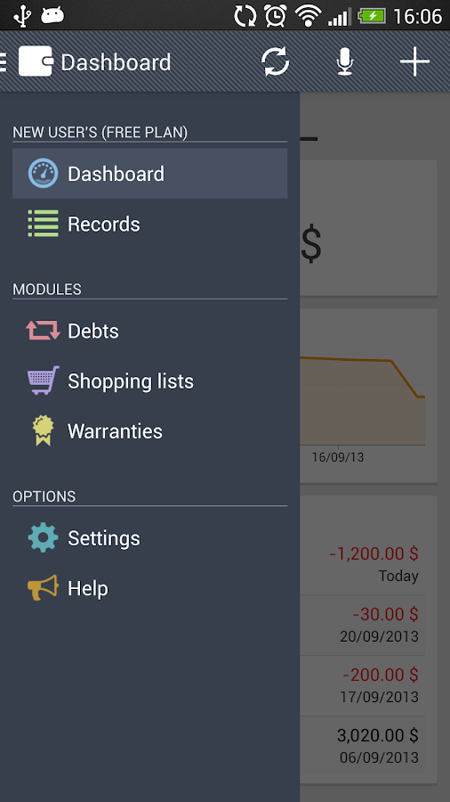 Wallet - screenshot