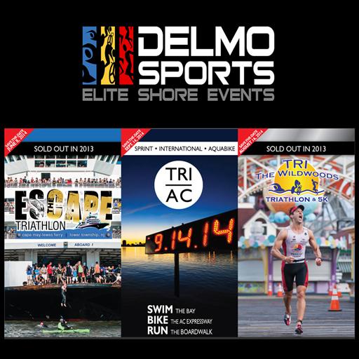 Delmo Sports Triathlon 運動 LOGO-阿達玩APP