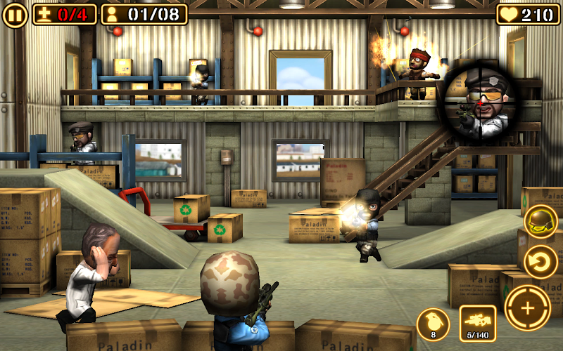 Gun Strike 2 Mod v1.1.8 (Unlimited Money) APK+DATA - screenshot
