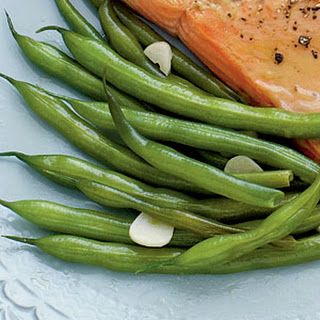 Sautéed Green Beans with Garlic.