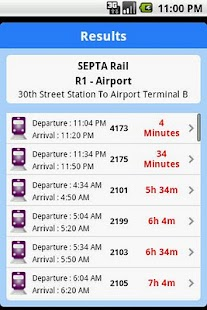 iTransitBuddy SEPTA Lite - screenshot thumbnail