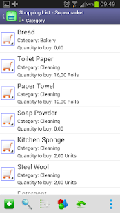 Perfect Shopping List - screenshot thumbnail