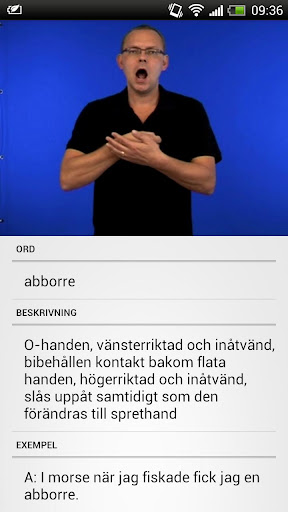 Svenskt Teckenspråkslexikon