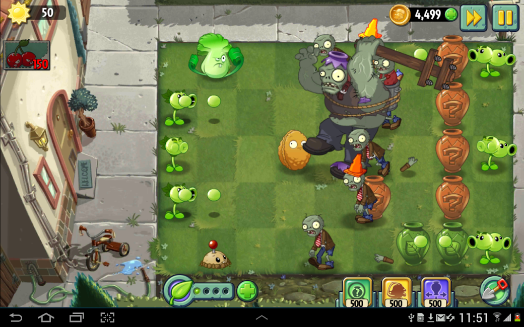 #6. Plants vs. Zombies 2 (Android)