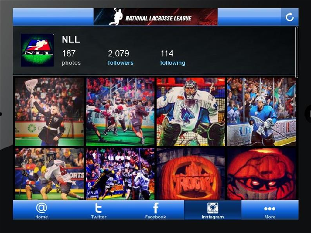 NLL Social - screenshot