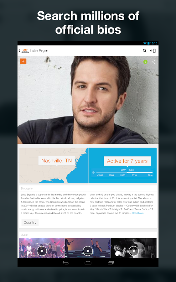 CMT Artists - Country Music - screenshot