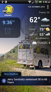 ABC30 Fresno Alarm Clock - screenshot thumbnail