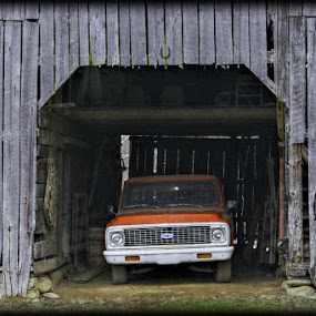 Barn Find by Larry Landry - Buildings & Architecture Other Exteriors ( southern living, barn find, pigeon forge, tennessee, east tennessee, barns )