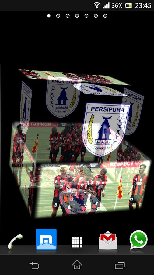 3D Persipura Jayapura LWP - screenshot