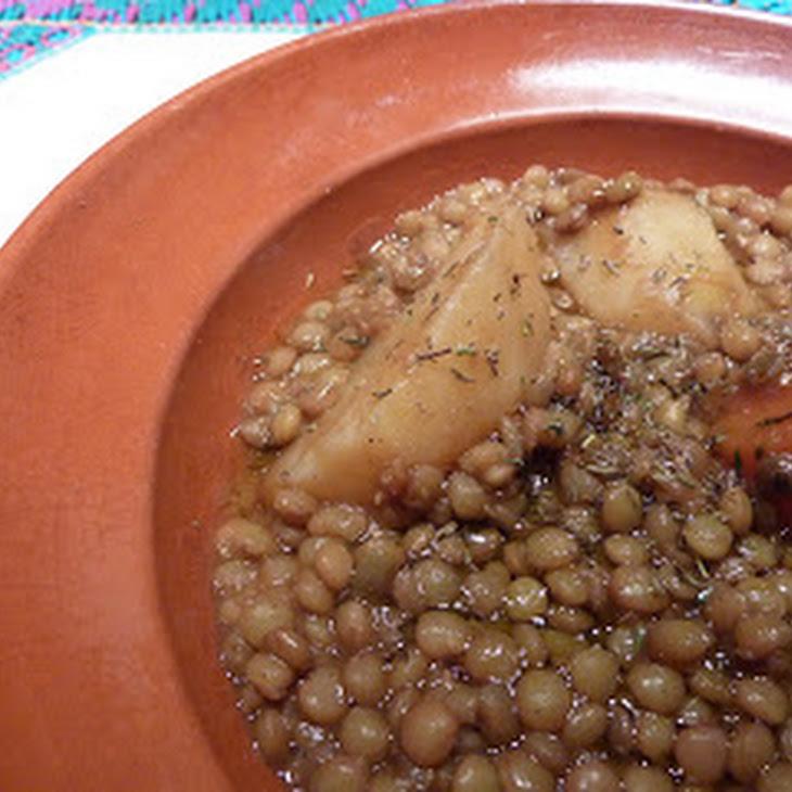 Cumin Lentils Recipe