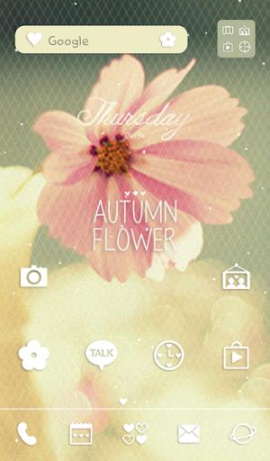 autumn flower 도돌런처 테마