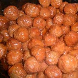 Reunion Meatballs.