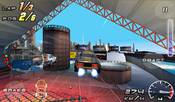 Raging Thunder 2 - FREE APK screenshot thumbnail 1