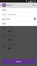Monster Job Search Screenshot 6