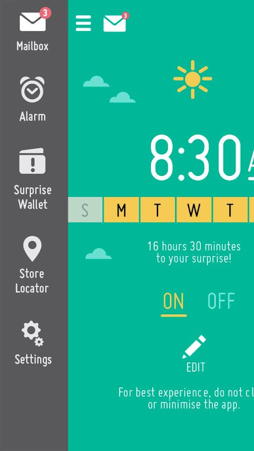 McDonald's® Surprise Alarm- screenshot