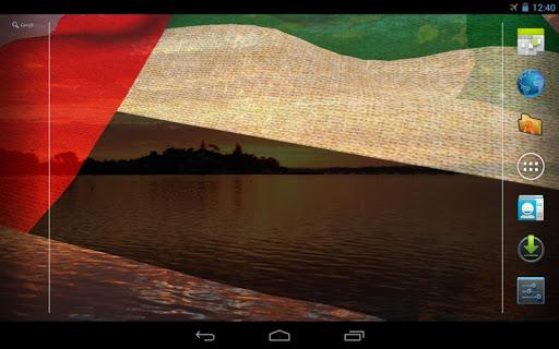 Download 3d uae flag live wallpaper for pc for 3d wallpaper for home uae