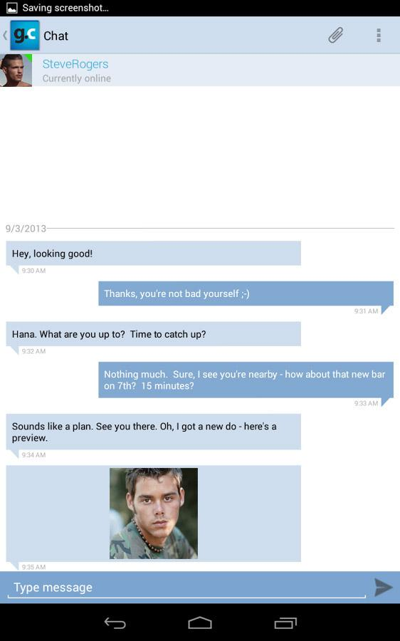 Gay.com same-sex chat & dating - screenshot