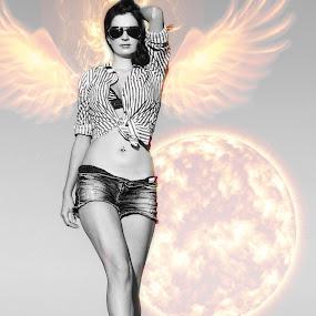 FIRE ANGEL by Adrian Marin - Digital Art People