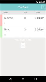 Waitlist Me Screenshot 4